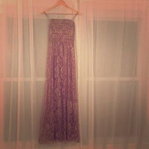 BCBG Max and Cleo gown